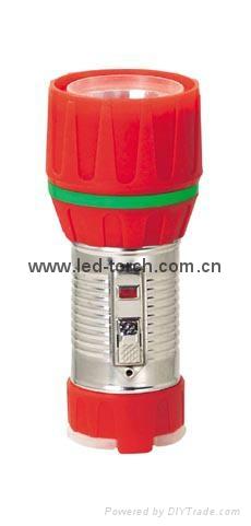 LED鐵塑彩色手電筒 TWC1DE1C 2
