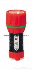 LED鐵塑彩色手電筒 TWC1DE1BC