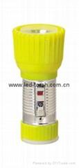 LED鐵塑彩色手電筒 TWD1DE1C