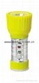 LED Metal/Steel-Plastic Colour Flashlight/Torch TWD1DE1C