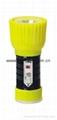 LED Metal/Steel-Plastic Colour Flashlight/Torch TWD1DE1BC