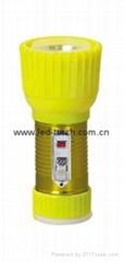 LED鐵塑彩色手電筒 TWD1DE1EC