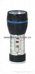 LED鐵塑彩色手電筒 TWJ1DE1