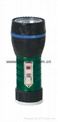 LED鐵塑彩色手電筒 TWA1DE1E