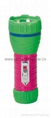 LED鐵塑彩色手電筒 TWA1DE1PC