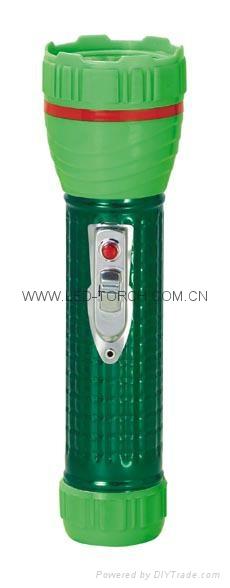 LED鐵塑彩色手電筒 TWA2DE1EC 4
