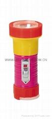 LED鐵塑彩色手電筒 TWB1DE1PC