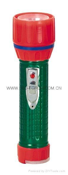 LED鐵塑彩色手電筒 TWC2DE1EC 4