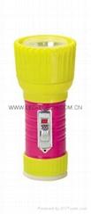 LED鐵塑彩色手電筒 TWD1DE1PC