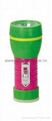 LED鐵塑彩色手電筒 TWJ1DE1PC