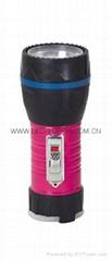 LED鐵塑彩色手電筒 TWA1DE1P