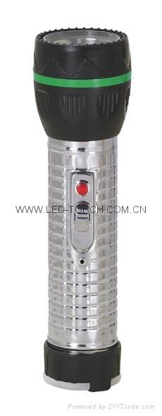 LED鐵塑彩色手電筒 TWJ2DE1 4