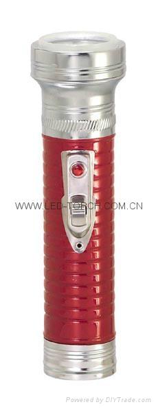LED金屬/鐵質彩色手電筒 FT2DE1C/FT2DE1E 4