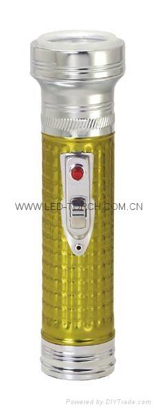 LED金屬/鐵質彩色手電筒 FT2DE1C/FT2DE1E 1