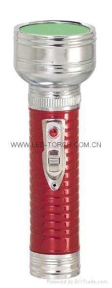 LED金屬/鐵質彩色手電筒 FT2DE10C/FT2DE10E  1