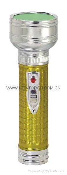 LED金屬/鐵質彩色手電筒 FT2DE10C/FT2DE10E  4