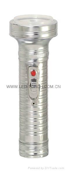 LED金屬/鐵質手電筒 FT2DE2 2