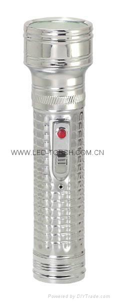 LED金屬/鐵質手電筒 FT2DE3 4