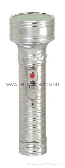 LED金屬/鐵質手電筒 FT2DE4 2