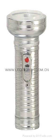 LED金屬/鐵質手電筒 FT2DE8 2