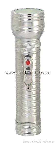LED金屬/鐵質手電筒 FT2DE9 2