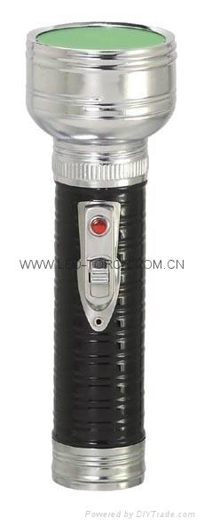 LED金屬/鐵質黑色手電筒 FT2DE10B 2