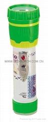 LED彩色塑料手電筒 97B2DE1