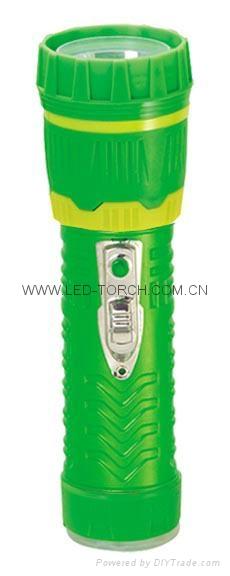 LED Colour Plastic Flashlight/Torch 97B2DE1C