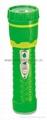 LED彩色塑料手電筒 97B2