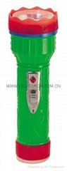 LED彩色塑料手電筒 PM350