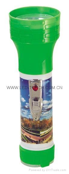 LED彩色塑料手電筒 PS350/PS350P 1