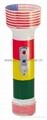 LED Colour Plastic Flashlight/Torch