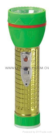 LED鐵塑彩色手電筒 TWJ2DE2EC 4