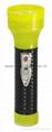 LED Metal/Steel-Plastic Colour Flashlight/Torch MPS350BC