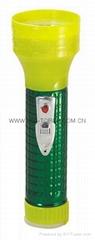LED鐵塑彩色手電筒 MPS350EC