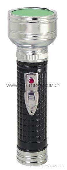 LED金屬/鐵質黑色手電筒 FT2DE10B 4