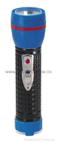 LED Metal/Steel-Plastic Colour Flashlight/Torch TWJ2DE1BC 4