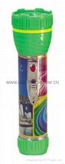LED鐵塑彩色手電筒 TWA2DE1PC