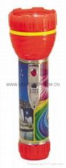 LED鐵塑彩色手電筒 TWA2DE2PC