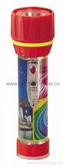 LED鐵塑彩色手電筒 TWC2DE1PC