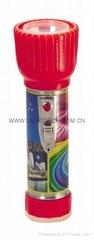 LED鐵塑彩色手電筒 TWD2DE1PC