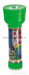 LED鐵塑彩色手電筒 TWD2DE2PC