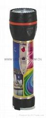 LED彩色鐵塑手電筒 TWJ2DE1P