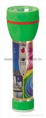 LED鐵塑彩色手電筒 TWJ2DE2PC