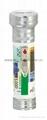 LED彩色鐵塑手電筒 KF3001