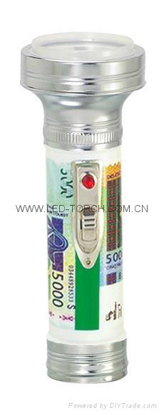 LED彩色鐵塑手電筒 KF3501 1