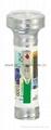 LED彩色鐵塑手電筒 KF35