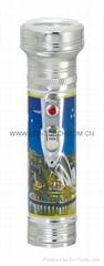 LED金屬/鐵質圖案手電筒 FT2DE1P
