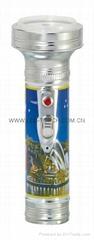 LED金屬/鐵質圖案手電筒 FT2DE2P