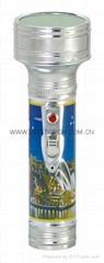 LED金屬/鐵質圖案手電筒 FT2DE4P